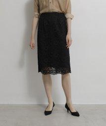 TONAL/【アナウンサー着用】レースタイトスカート/502963917