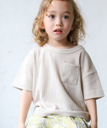 pairmanon/ユニセックス ワッフル サーマル ロゴ 刺繍 ポケット ワイド 半袖 Tシャツ/502976028