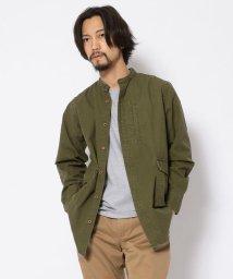 UNCUT BOUND/NCB neat caprice brand(エヌシービーニートカプリスブランド)  バンドカラーシャツ/502977373