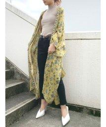 GYDA/original flower kimono ロングガウン/502977532
