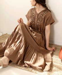 Bou Jeloud/Made in INDIA◆【WEB限定】刺繍ティアードワンピース/502977889