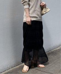 NOBLE/マジョリカプリーツニットスカート◆/502979198