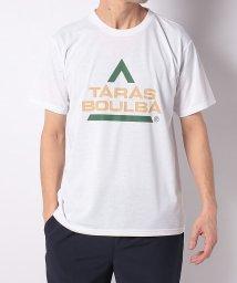 TARAS BOULBA/タラスブルバ/メンズ/ドライミックス レトロロゴTシャツ/502979288