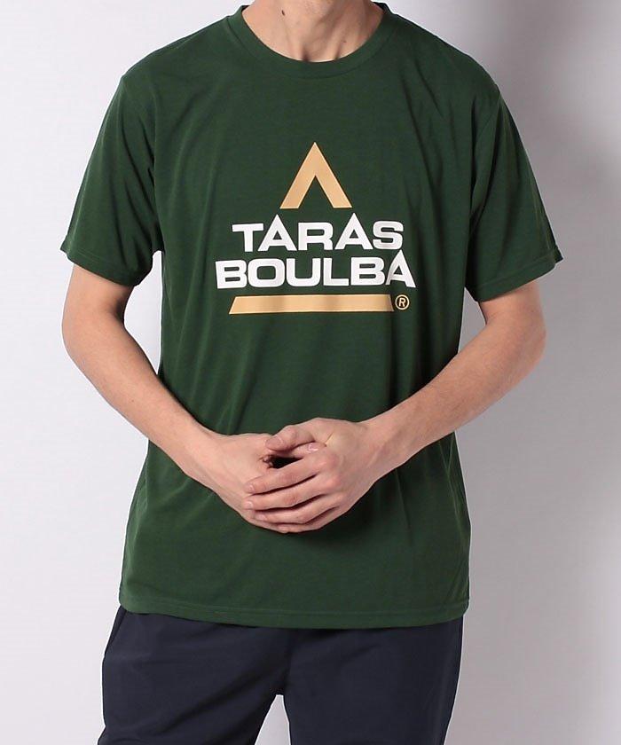 販売主:スポーツオーソリティ タラスブルバ/メンズ/ドライミックス レトロロゴTシャツ メンズ グリーン L 【SPORTS AUTHORITY】