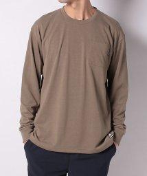 TARAS BOULBA/タラスブルバ/メンズ/ドライミックス ヘビーウェイトポケットロングTシャツ/502979298