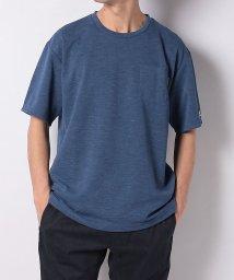 TARAS BOULBA/タラスブルバ/メンズ/ドライミックスデニム ポケットTシャツ/502979305