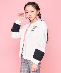 JENNI love/ミニ裏毛フードロゴZIPパーカー/502979443