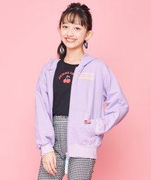 JENNI love/ミニ裏毛ロゴテープZIPパーカー/502979444