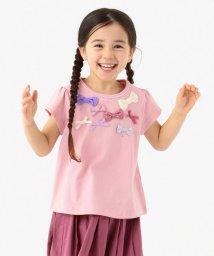 anyFAM(KIDS)/【80-130cm】ランダムリボン 半袖Tシャツ/502979827