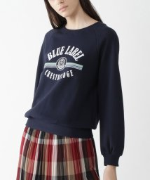 BLUE LABEL CRESTBRIDGE/コットン裏毛カレッジロゴスウェット/502980106