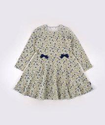 Noeil aime BeBe/花柄 リボン付き ポンチ ワンピース (80cm~130cm)/502886483