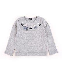 BeBe/スムーススズラン刺繍Tシャツ/502897659