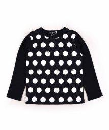 BeBe/スムースドットプリントTシャツ/502897662