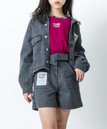 ZIDDY/デニムデザインジャケット/502900880