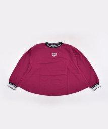 ZIDDY/ロゴ ネック ジャカード ワイド Tシャツ(130cm~160cm)/502900885