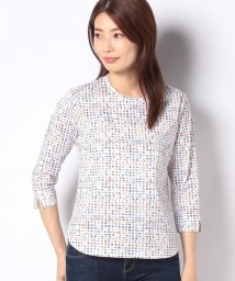 CARA O CRUZ/フラッグ柄Tシャツ/502933588