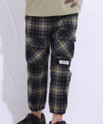 WASK/9分丈TRチェックテーパードパンツ(140cm~160cm)/502959955