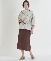 CLEAR IMPRESSION/コットンクロスシャツジャケット/502981052