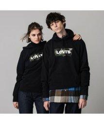 Levi's/グラフィックフーディー HM ANIMAL. MINERAL BLACK/502888666