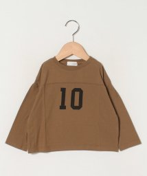 b-ROOM/ナンバーロゴビッグシルエットTシャツ/502961153