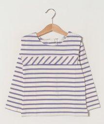 b-ROOM/セーラーカラーボーダーTシャツ/502961155