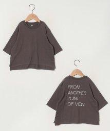 b-ROOM/バックプリントビッグTシャツ/502961156