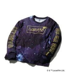 Levi's/オーバーサイズロングスリーブTシャツ BW BLACK/502973643