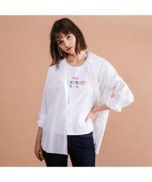 Levi's/THE ULTIMATE ボーイフレンドシャツ BRIGHT WHITE/502973646