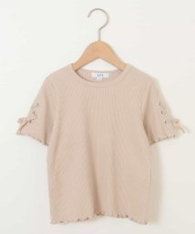 a.v.v(KID'S)/[100-130]レースアップデザインテレコカットソー[WEB限定サイズ]/502981372