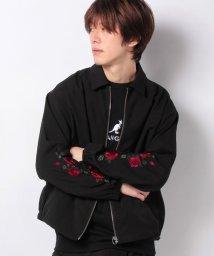 WEGO/WEGO/【セットアップ対応商品】ローズ刺繍スウィングトップ/シャツジャケット/502830586