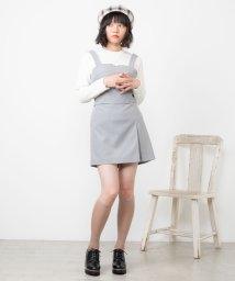 WEGO/【セットアップ対応商品】ベイクドカラーミニスカート/502830694