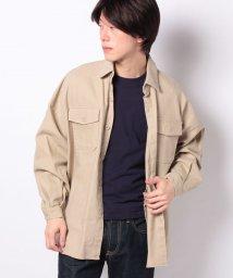 WEGO/WEGO/ビッグシルエットCPOシャツジャケット/502847848