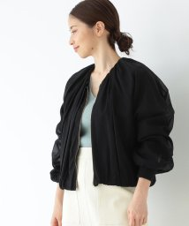 Demi-Luxe BEAMS/Demi-Luxe BEAMS / Vネック ギャザーブルゾン/502925627