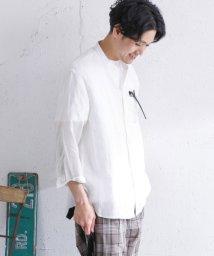 URBAN RESEARCH OUTLET/【DOORS】リネンバンドカラー8/Sシャツ/502958551