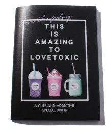 Lovetoxic/ドリンクモチーフポケットつきファイル/502963800