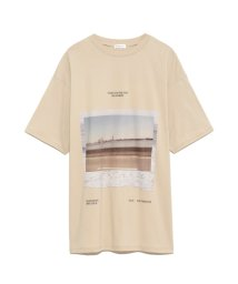 FRAY I.D/フロントフォトTシャツ/502982422