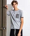 NUMBERNINE DENIM/NUMBER (N)INE DENIM(ナンバーナインデニム)コンビーネーションポケットTシャツ/502982935