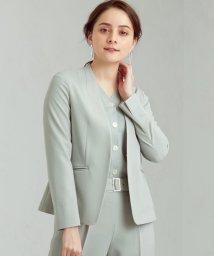 green label relaxing/[手洗い可能/サラフール] ◆D ノーラペル ジャケット ◇No12◇/502982973