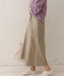 URBAN RESEARCH DOORS/ベルト付Aラインスカート/502983050