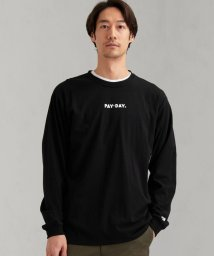 green label relaxing/別注 [ ペイデイ ] SC PAYDAY ロゴ プリント Tee 長袖 カットソー ロンT/502933233