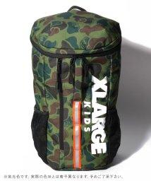 XLARGE KIDS/縦ロゴバケツ型バックパック/502963538