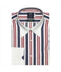 BRICKHOUSE/ワイシャツ 長袖 形態安定 クレリック ボタンダウン ストライプ 標準体/502983692