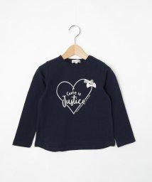 SHOO・LA・RUE(Kids) /【80-130cm】リボンつき長袖Tシャツ/502983931