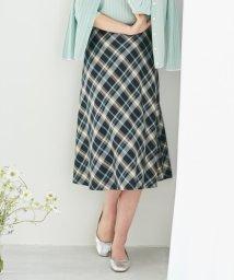 J.PRESS LADIES/【洗える】コットンテンセルチェック スカート/502984432