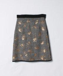 LANVIN COLLECTION/カラミツィードAラインスカート/502430051