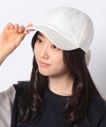 MIIA/後ろリボン刺繍キャップ/502969713