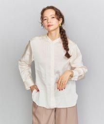 BEAUTY&YOUTH UNITED ARROWS/BY サテンバンドカラーシャツ/502971959