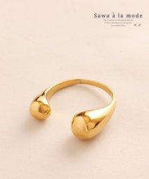 Sawa a la mode/上品なゴールドのフリーサイズリング/502984920