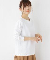 SHOO・LA・RUE DRESKIP/【M-LL】ス-ピマリップルハ-トネックプルオーバー/502985047