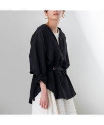 EUCLAID/ベルト付きワークシャツジャケット/502986580